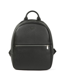 Emporio Armani Mens Black Backpack