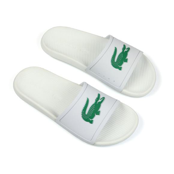 Lacoste Mens White Croco Slide main image