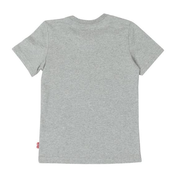 Levi's Boys Grey Batwing Logo T Shirt main image