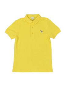 Paul Smith Junior Boys Yellow Ridley Polo Shirt
