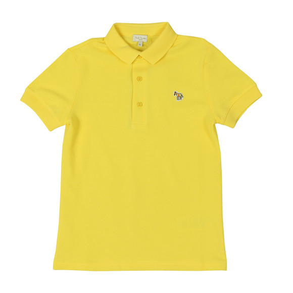 Paul Smith Junior Boys Yellow Ridley Polo Shirt main image