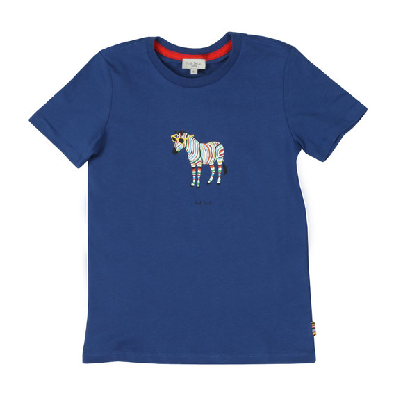 Paul Smith Junior Boys Blue Tybalt T Shirt main image