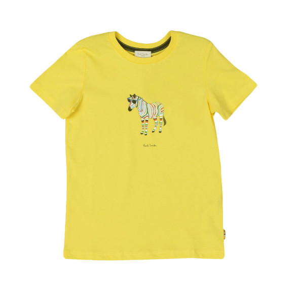 Paul Smith Junior Boys Yellow Tybalt T Shirt main image