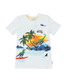 Paul Smith Junior Boys White Thimoty T Shirt