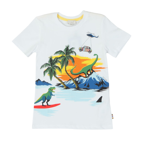 Paul Smith Junior Boys White Thimoty T Shirt main image