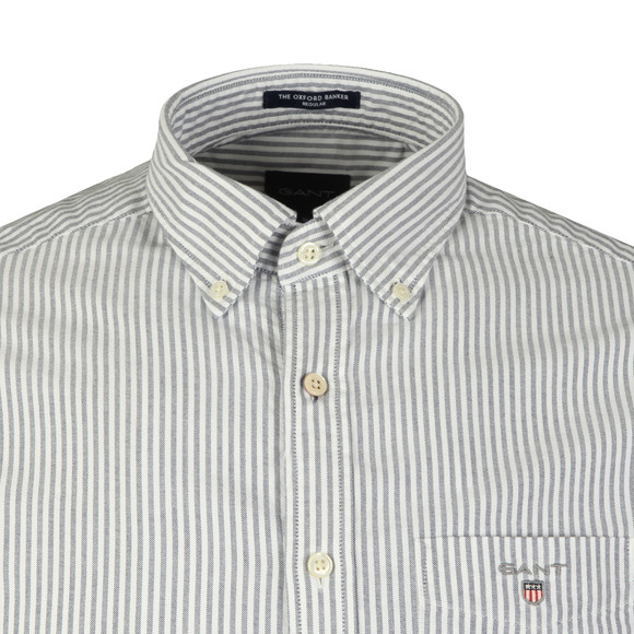 Gant Mens Blue Oxford Banker LS Shirt main image