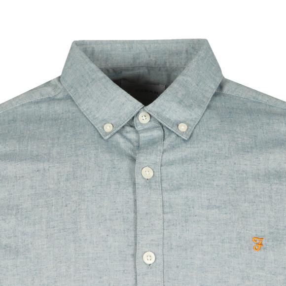 Farah Mens Blue Steen L/S Shirt main image
