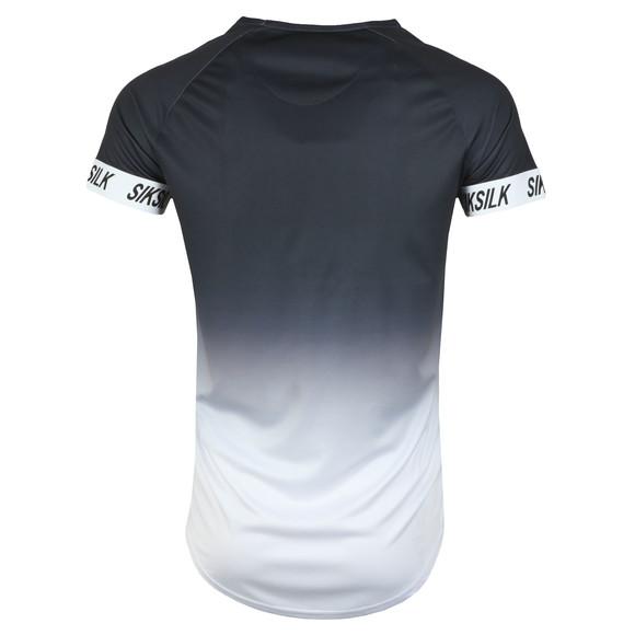 Sik Silk Mens Black Tech T-Shirt Island Fade main image
