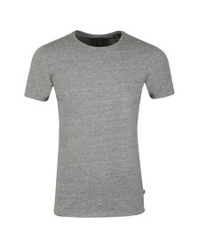 Scotch & Soda Mens Grey Scotch & Soda Crew Neck T-Shirt