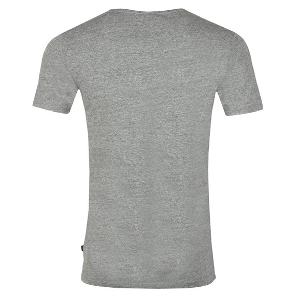 Scotch & Soda Mens Grey Scotch & Soda Crew Neck T-Shirt main image