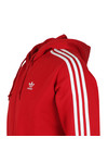 adidas Originals Mens Red 3 Stripes Hoodie