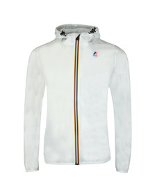 K-Way Mens White Le Vrai 3.0 Claude Jacket