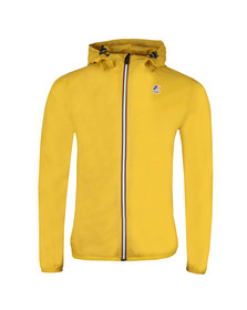 K-Way Mens Yellow Le Vrai 3.0 Claude Jacket