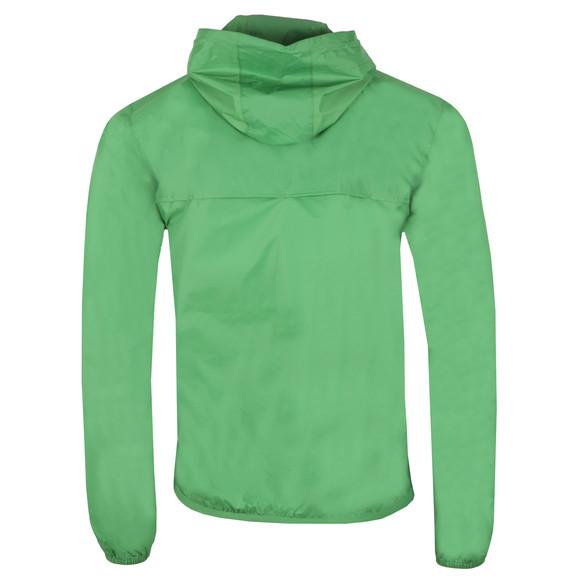 K-Way Mens Green Le Vrai 3.0 Leon 1/2 Zip Jacket main image