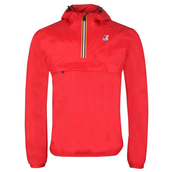 K-Way Mens Red Le Vrai 3.0 Leon 1/2 Zip Jacket main image