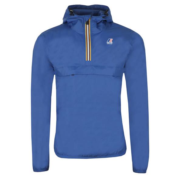 K-Way Mens Blue Le Vrai 3.0 Leon 1/2 Zip Jacket main image