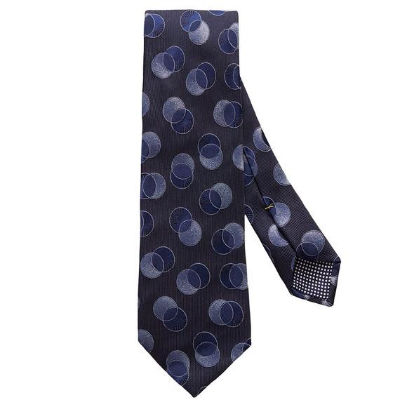 Eton Mens Blue Large Circle Tie main image