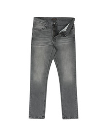 Nudie Jeans Mens Grey Lean Dean Jean
