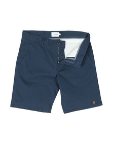 Farah Mens Blue Hawk Chino Short