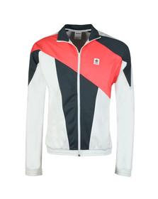 Reebok Mens White Classic Track Jacket