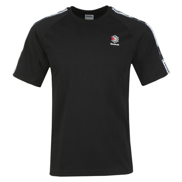 Reebok Mens Black Classic Taped T-Shirt main image
