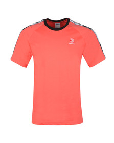 Reebok Mens Pink Classic Taped Tee