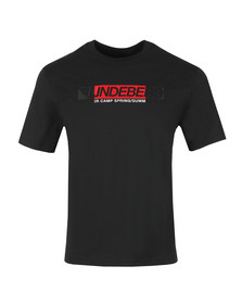 J.Lindeberg Mens Black Dale Distinct Cotton T Shirt