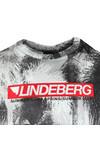 J.Lindeberg Mens Green Dale Distinct Cotton T Shirt