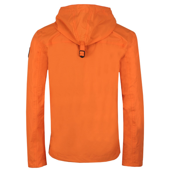 Napapijri Mens Orange Rainforest Summer Jacket main image