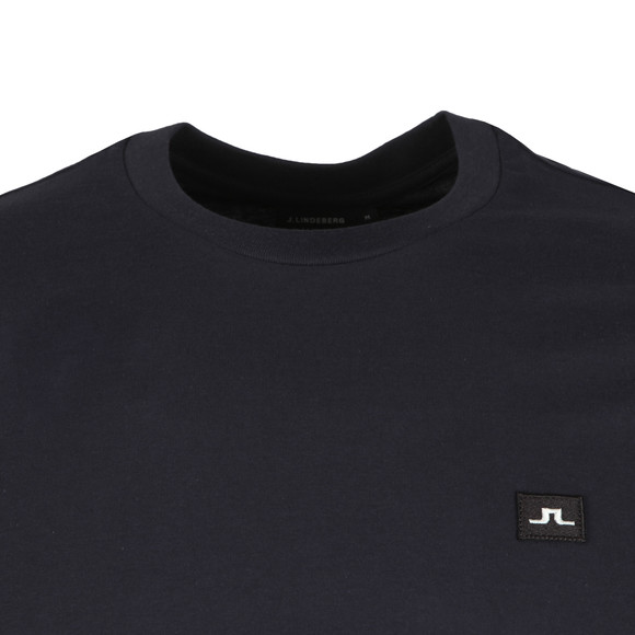 J.Lindeberg Mens Blue Bridge Jersey T Shirt main image