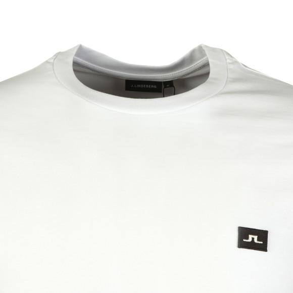 J.Lindeberg Mens White Bridge Jersey T Shirt main image