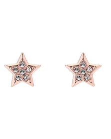 Ted Baker Womens Pink Safire Shooting Star Stud Earring