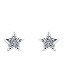 Ted Baker Womens Silver Safire Shooting Star Stud Earring