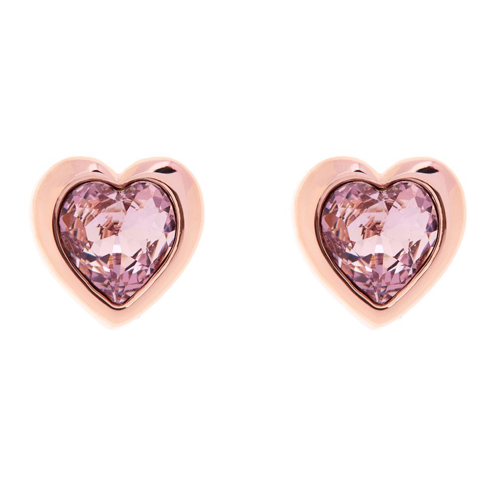 Han Crystal Heart Earring main image