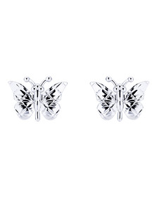 Ted Baker Womens Silver Bethna Butterfly Earring