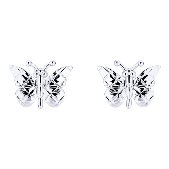 Ted Baker Womens Silver Bethna Butterfly Earring main image