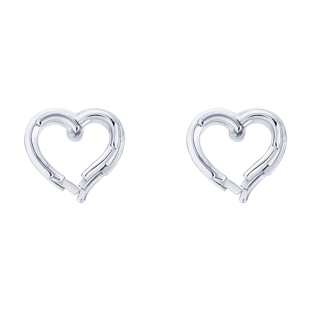 Lornaa Layered Heart Earring