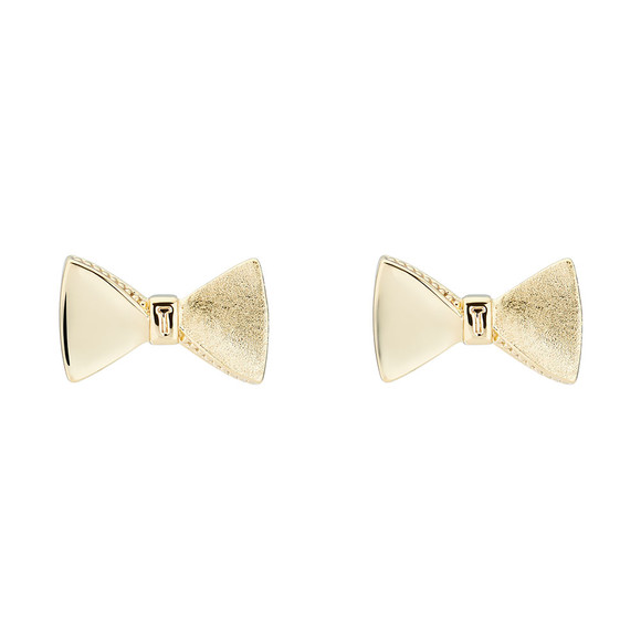 Ted Baker Womens Gold Tayal Tux Bow Earring main image