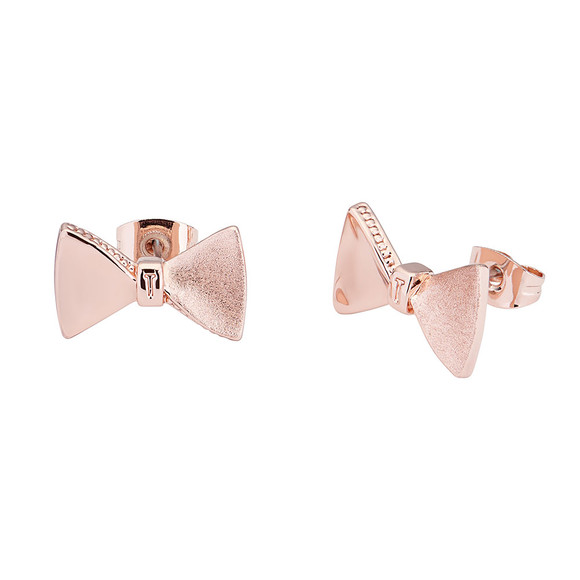 Ted Baker Womens Pink Tayal Tux Bow Earring main image