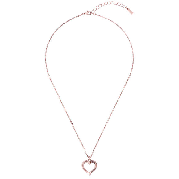 Ted Baker Womens Pink Laya Layered Heart Pendant main image