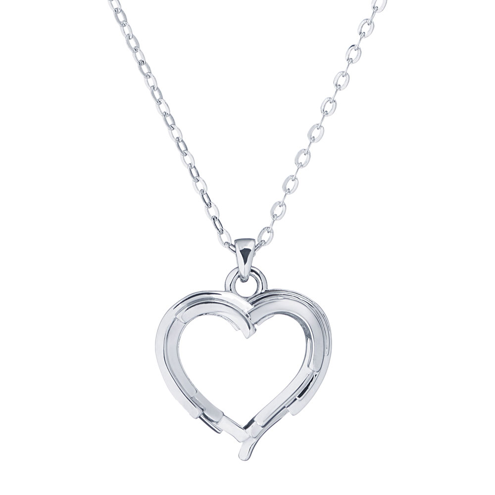 Laya Layered Heart Pendant main image