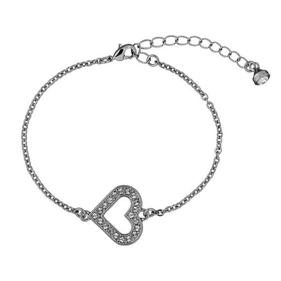 Ted Baker Womens Silver Elfrida Enchanted Heart Bracelet main image