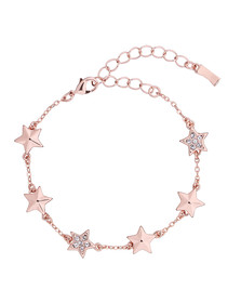 Ted Baker Womens Pink Shaena Shooting Star Bracelet