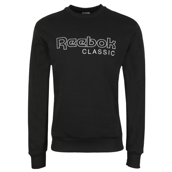 Reebok Mens Black Crew Sweat main image