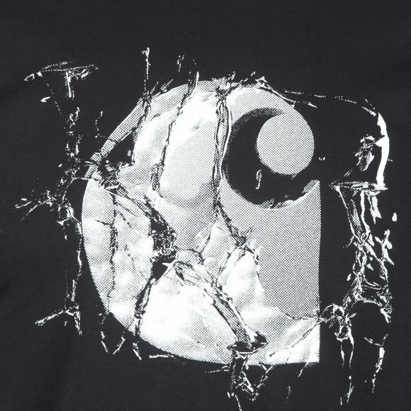 Carhartt WIP Mens Blue Broken Glass T Shirt main image