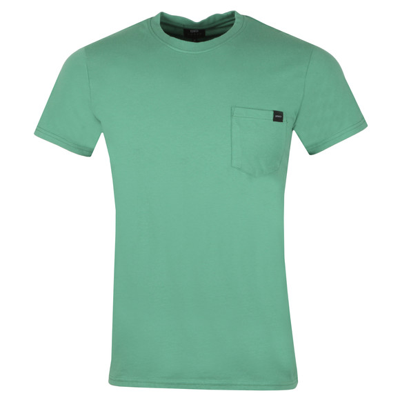 Edwin Mens Green Pocket Crew T-Shirt main image