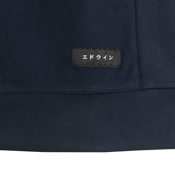 Edwin Mens Blue Edwin Nicki Sweat main image