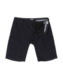 C.P. Company Mens Blue Cargo Short
