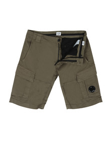 C.P. Company Mens Grey Cargo Short
