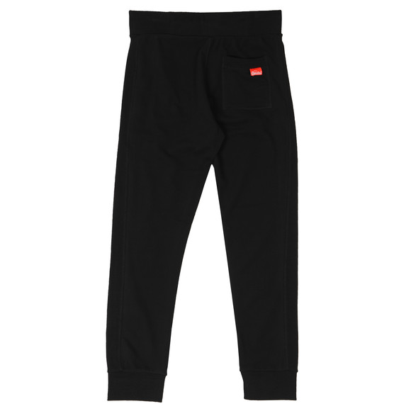 Superdry Mens Black Orange Label Lite Jogger main image
